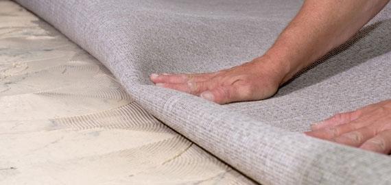 Removing carpet, hauling away carpet