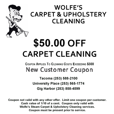 Carpet Cleaning Coupon for new customers