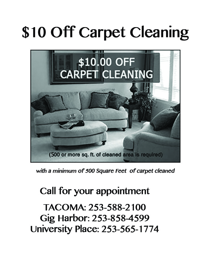 $10 Off Carpet Cleaning Coupon